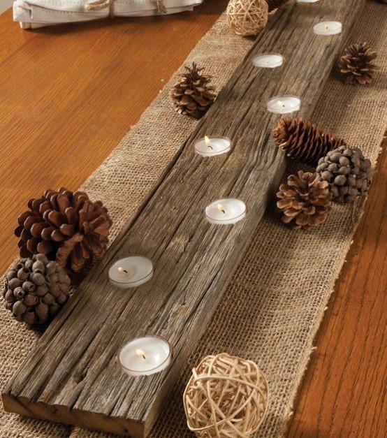 21 ideas para decorar tu hogar con tela de arpillera - Decorar macetas con arpillera ...
