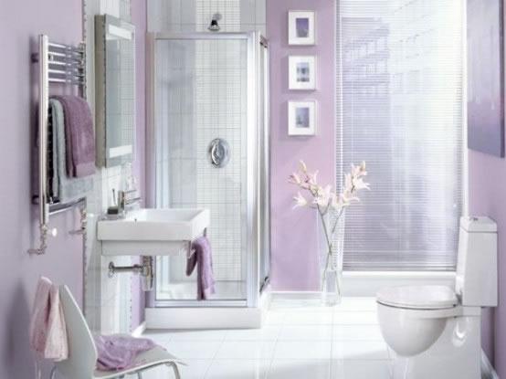 Decoracion Baño Femenino:Baños con una delicada decoración de estilo femenino