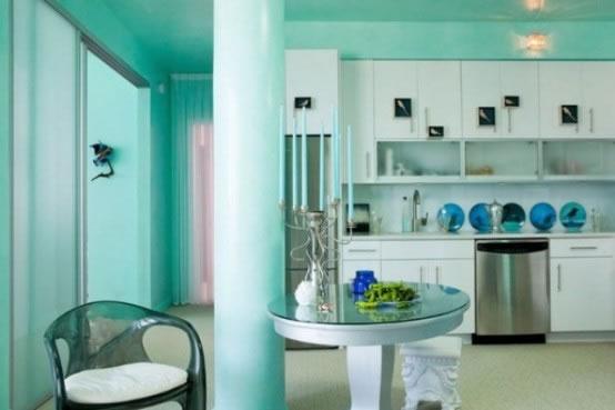 habitaciones color verde menta – Dabcre.com