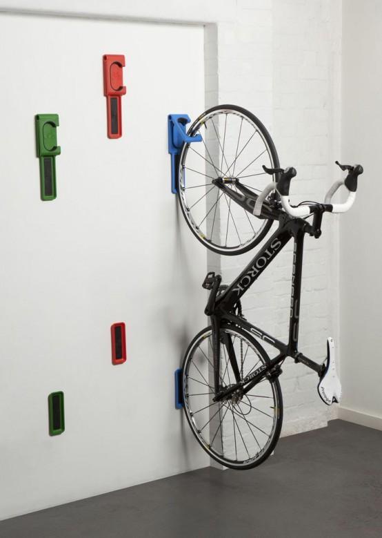 Aprende Como Guardar La Bicicleta En Casa - Colgar-bici-techo
