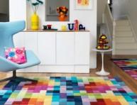 imagen Anímate a decorar tu living con diseños geométricos