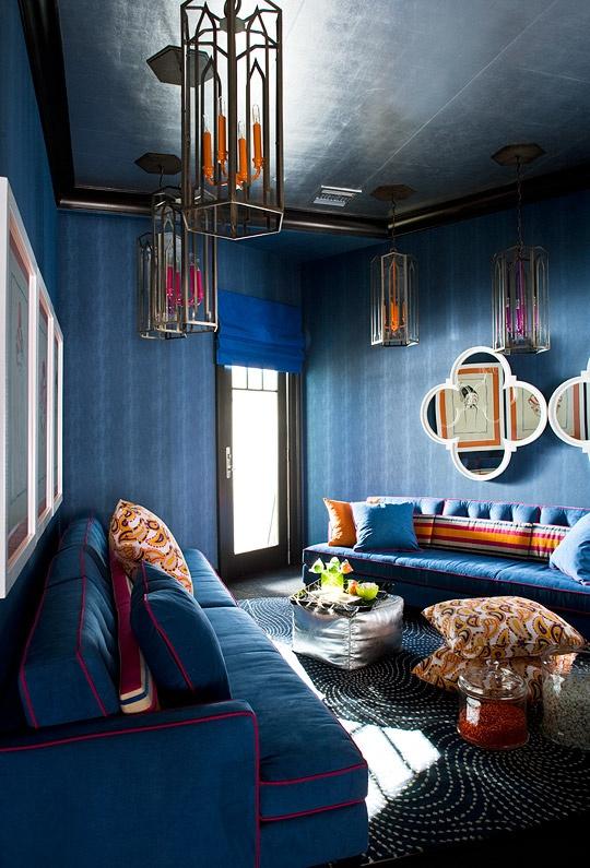 el color indigo en la decoracion del hogar 02 gu a para On decoracion del hogar 2015