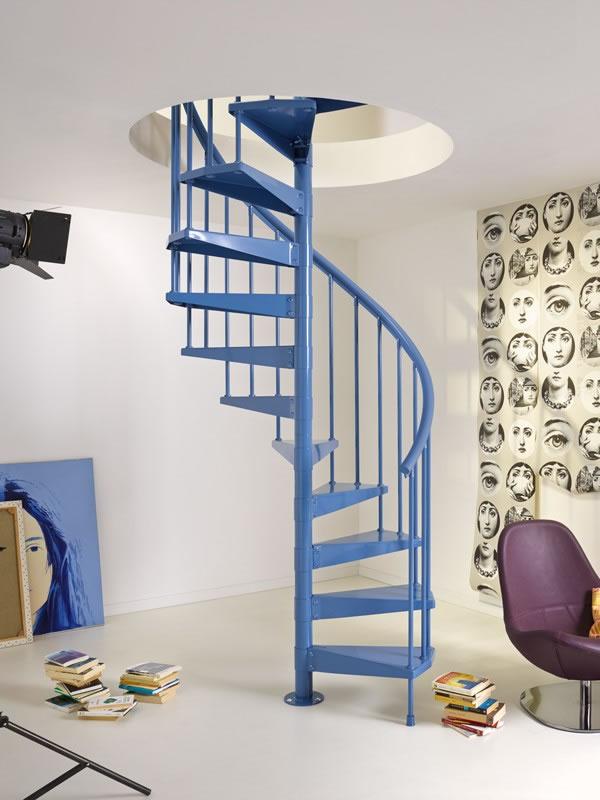 por qu tener una escalera caracol en tu hogar