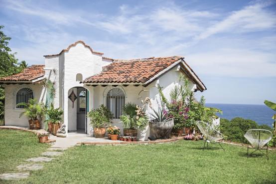Casa de estilo boho chic con detalles mexicanos 1