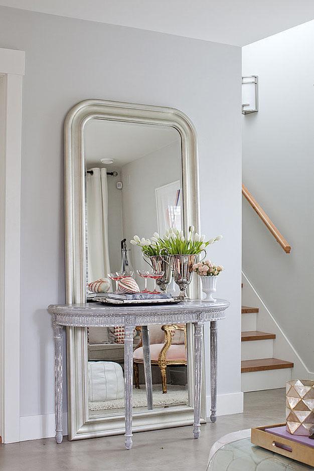 9 ideas para dar sensacion de amplitud con espejos for Espejos grandes con marco