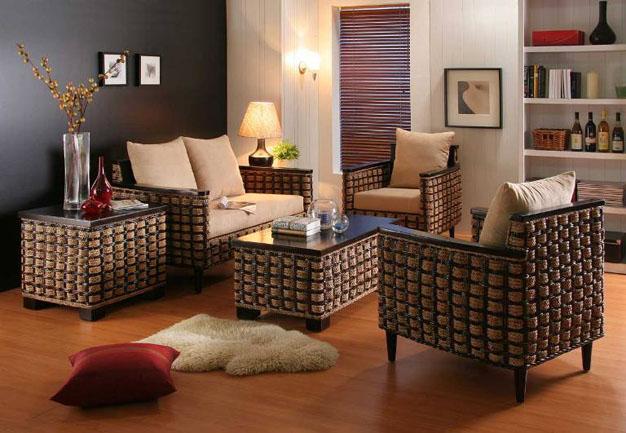 Por qu elegir muebles de rat n - Cubrir terraza barato ...