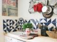 imagen Cómo decorar tu cocina con diseños geométricos