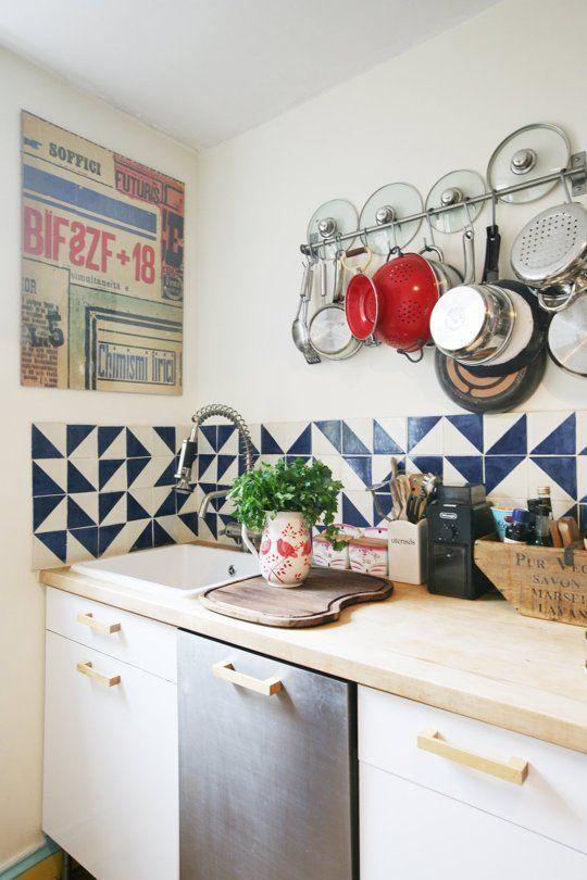 Cómo decorar tu cocina con diseños geométricos