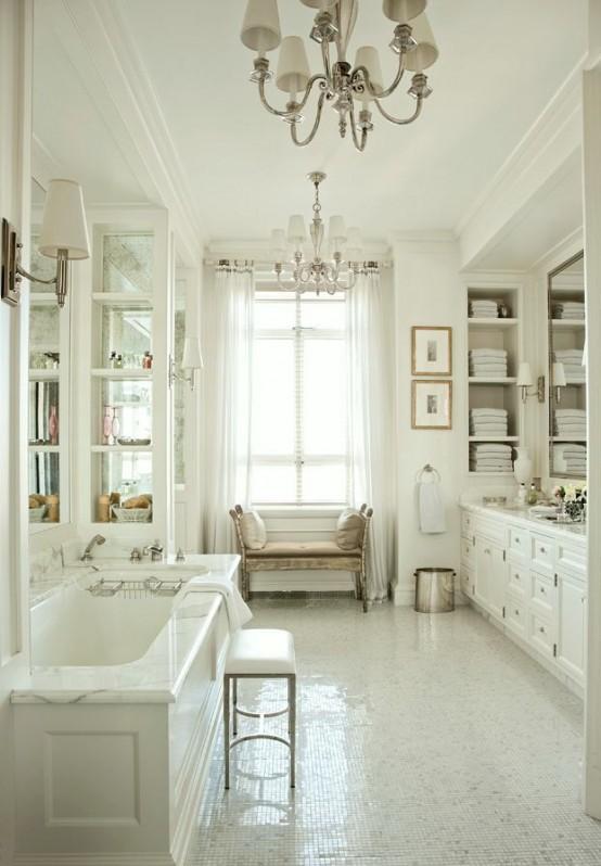 15 cuartos de ba o de estilo provenzal - Estilo provenzal decoracion ...