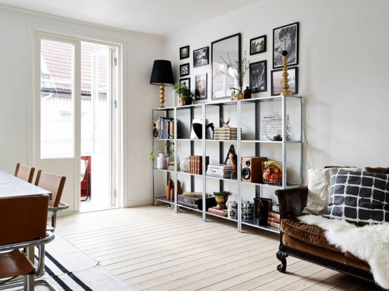 15 Ideas Para Decorar Con Estanter 237 As Met 225 Licas