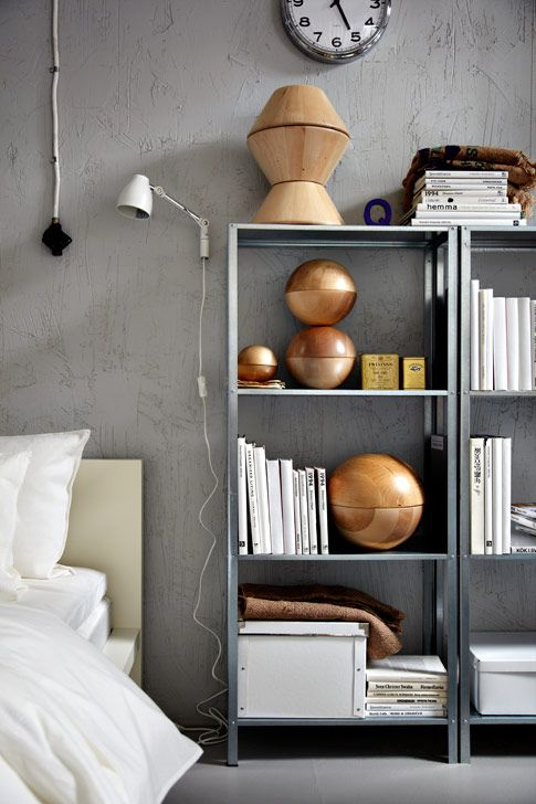 15 ideas para decorar con estanter as met licas for Ar 15 decorations