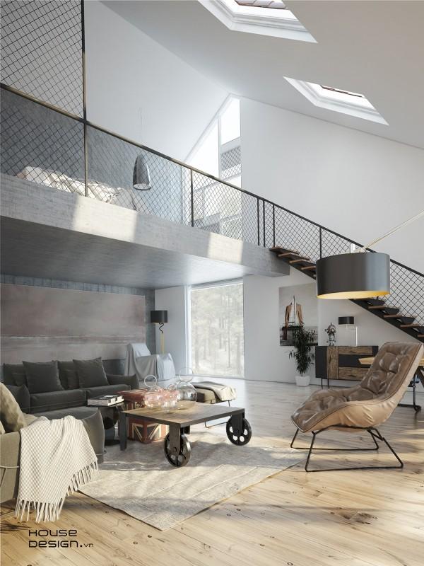 4 Impresionantes Casas De Techos Inclinados