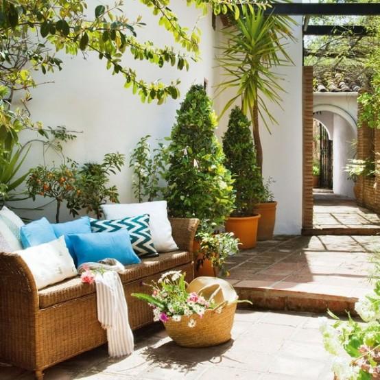 Una preciosa casa de vacaciones en el mediterráneo
