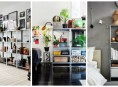 imagen 15 ideas para decorar con estanterías metálicas