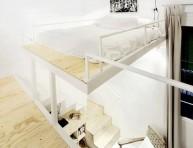 imagen Elegantes ideas de dormitorios para lofts