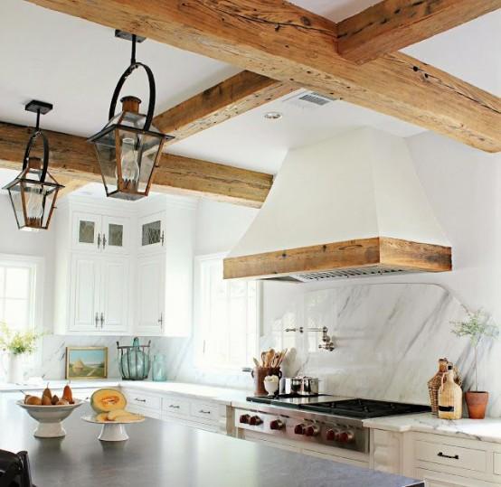 Ideas para intergrar las campanas extractoras a la decoraci n - Mejores campanas extractoras para cocinas ...