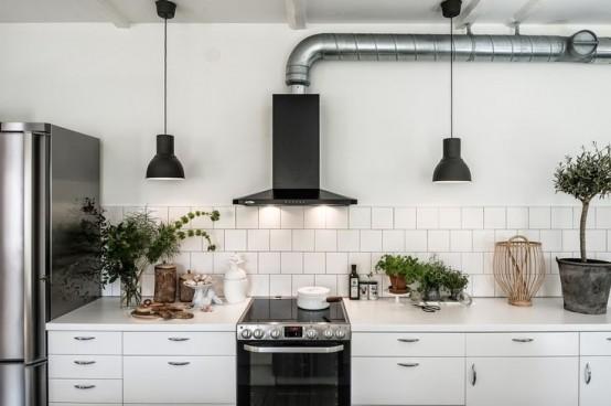 Ideas para intergrar las campanas extractoras a la decoraci n - Campana extractora cocina industrial ...