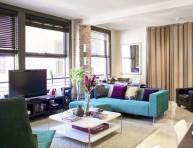 imagen 10 coloridos sofás para tu living