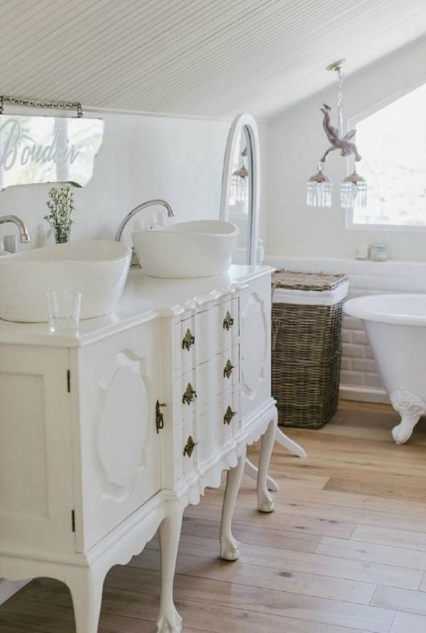Lavabos Dobles Para Baño:10 ideas para tener un lavabo doble en tu baño Artículo Publicado el