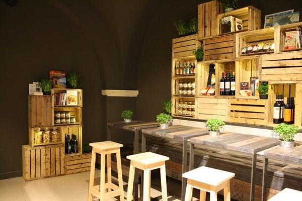 15 formas de reutilizar cajones y cajas de vino
