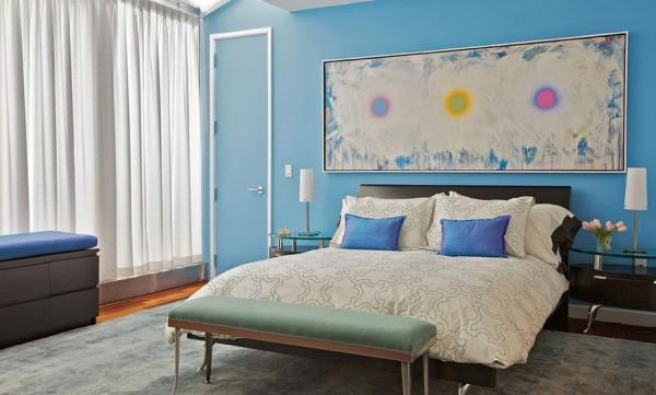 C mo darle car cter al dormitorio con cuadros o pinturas - Oleos para dormitorios ...