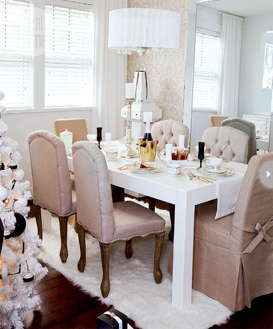 elegantes-y-bellos-comedores-decorados-en-tonos-neutros-03 | Guía ...
