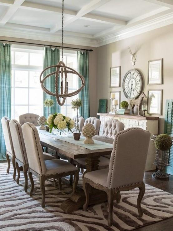 elegantes-y-bellos-comedores-decorados-en-tonos-neutros-06 | Guía ...