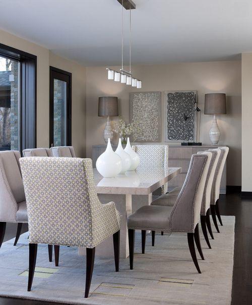 elegantes-y-bellos-comedores-decorados-en-tonos-neutros-08 | Guía ...