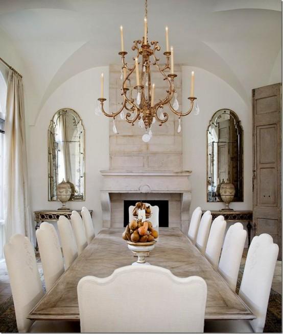 elegantes-y-bellos-comedores-decorados-en-tonos-neutros-12   Guía ...