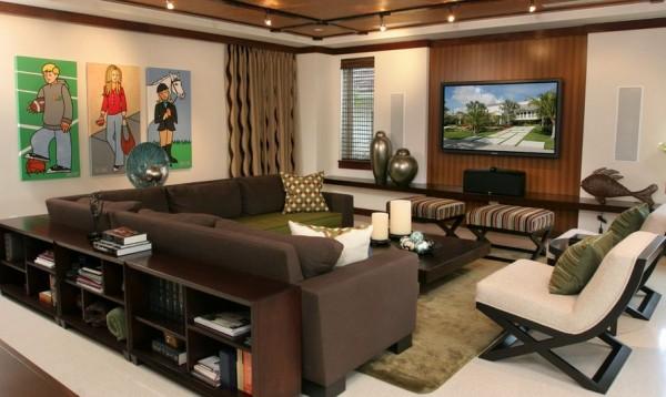C mo combinar el sof con mesa y sillas for Mueble que se convierte en mesa