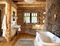 imagen Cómo usar materiales naturales en el cuarto de baño