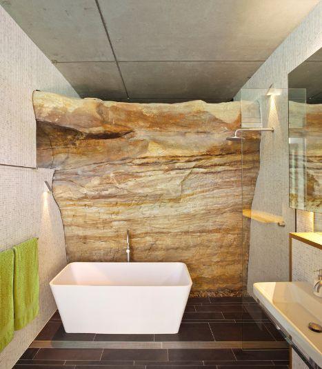 Usar materiales naturales en el cuarto de bano 07 gu a - Materiales de bano ...