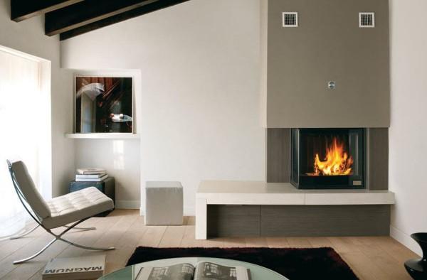 16 ideas de chimeneas hermosas y funcionales