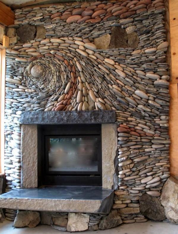16 ideas de chimeneas hermosas y funcionales for Forrar chimenea