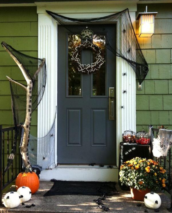 Decoracion Halloween Economica ~ Los elementos a utilizar son los t?picos de la festividad, calabazas