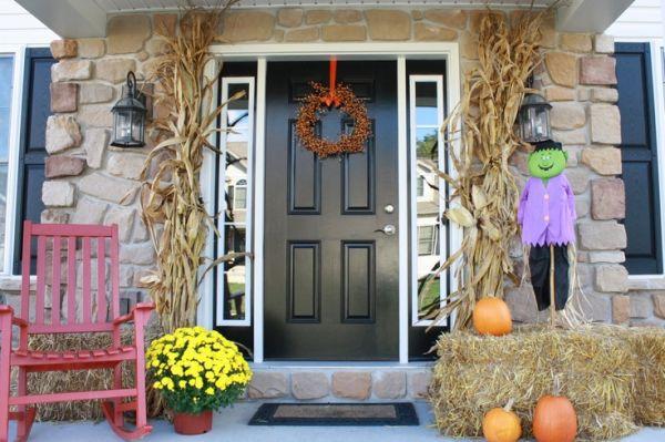 Decoraciones de halloween para la puerta de casa for Decoraciones de las casas