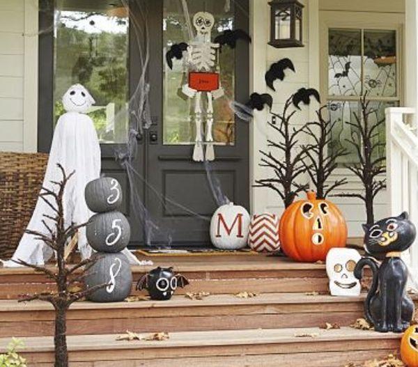 Decoraciones de halloween para la puerta de casa for Decoracion de la puerta de entrada