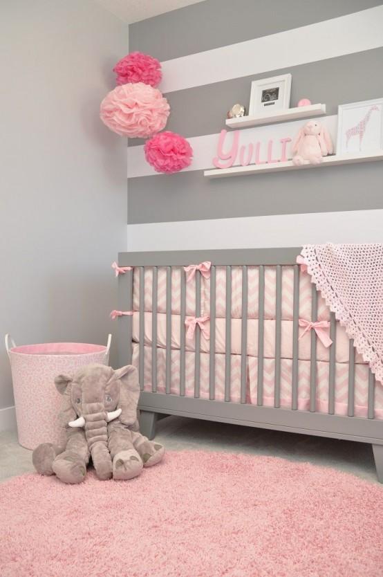 Decorar en gris y rosa una combinaci n de color muy actual for Combinacion de color rosa