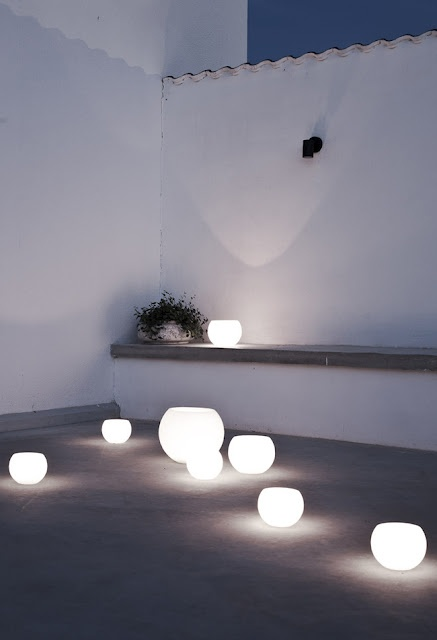 Ideas para iluminaci n de exteriores originales y creativas Iluminacion decorativa para exteriores