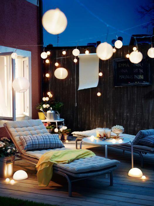 Ideas para iluminaci n de exteriores originales y creativas for Ideas de iluminacion