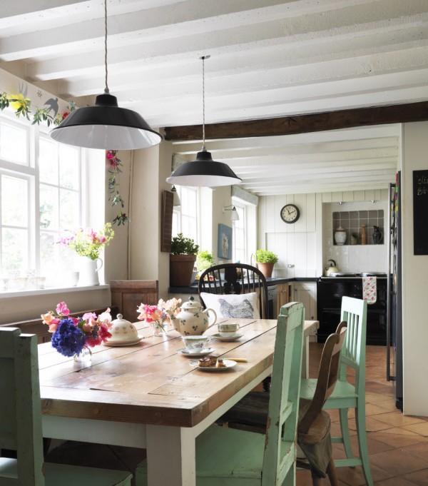 Imprescindibles en una cocina de estilo shabby chic - Cocinas estilo shabby chic ...