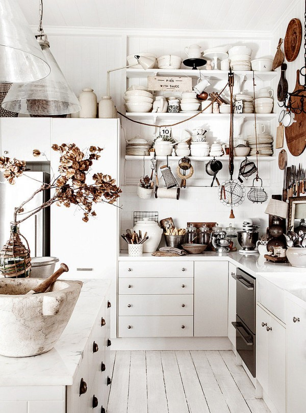 Imprescindibles en una cocina de estilo shabby chic