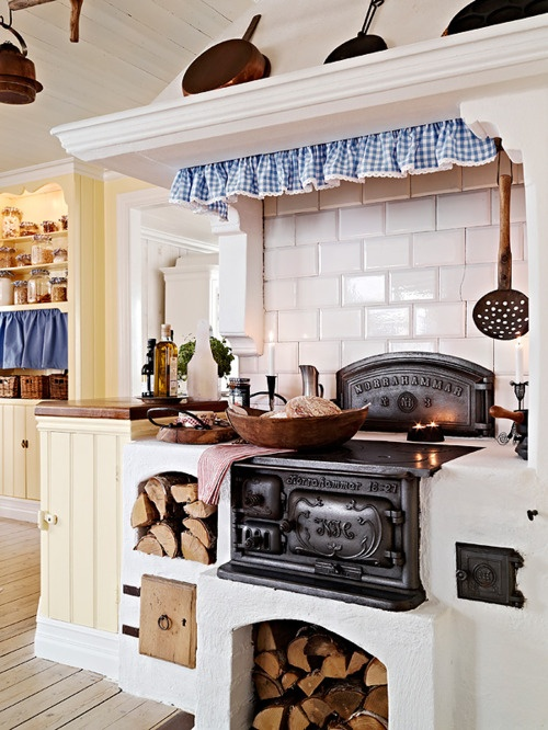 Impresionantes cocinas en estilo r stico escandinavo - Cocinas estilo rustico ...