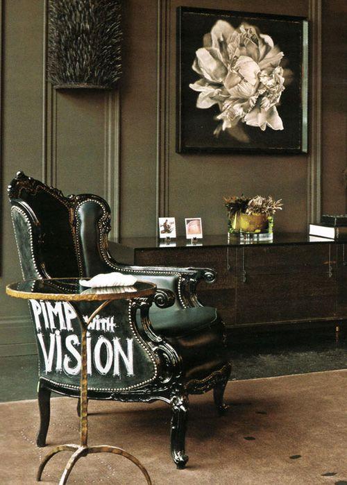 C mo incorporar sillas antiguas a la decoraci n moderna - Tapizado de sillas antiguas ...
