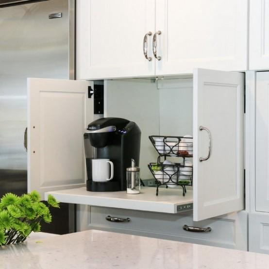C mo organizar los peque os electrodom sticos en la cocina for Mueble persiana cocina