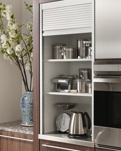 C mo organizar los peque os electrodom sticos en la cocina for Acomodar muebles en espacios pequenos