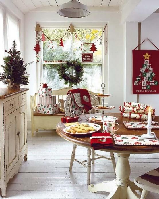 C mo decorar tu cocina para navidad for Cocina de navidad con sara