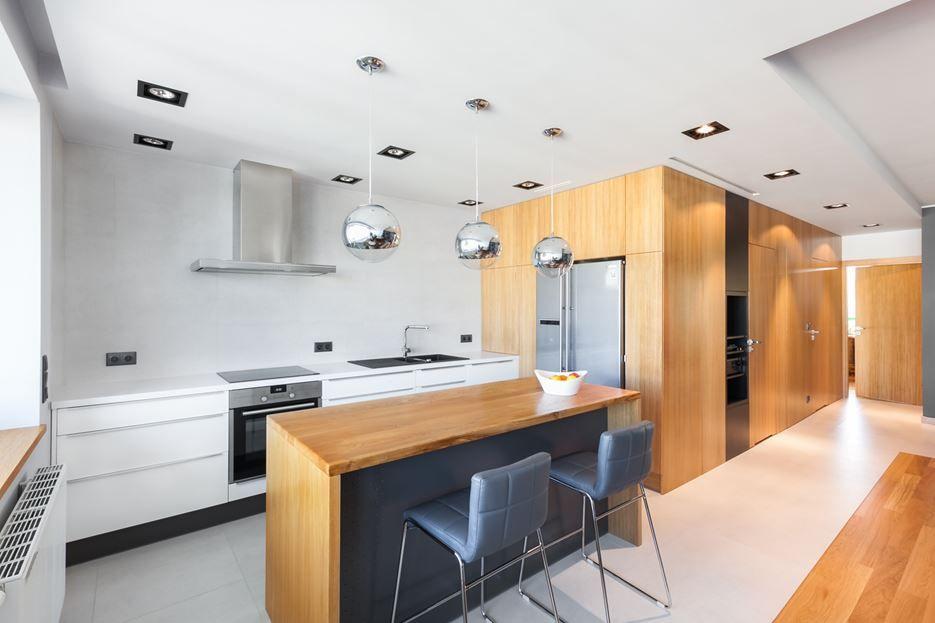 Sillas y taburetes para islas de cocina - Cocinas en isla modernas ...