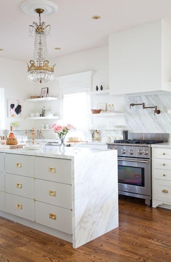 cocinas con glamour 10 gu a para decorar On cocinas con glamour
