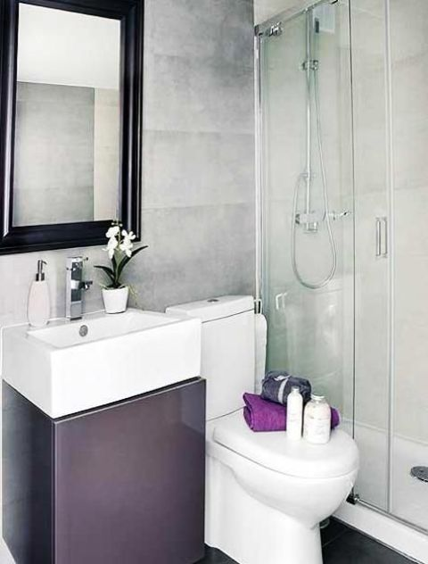 Baños Elegantes Pequenos:Very Small Bathroom Design Ideas